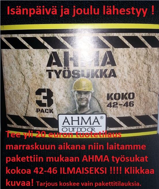 AHMA TYÖSUKAT 42-46